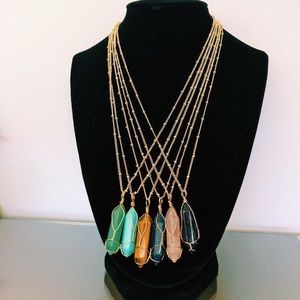 Jewelry - Chakra Healing Crystal Necklaces✨